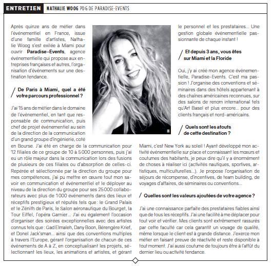 Article Miami - Nathalie Woog