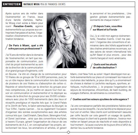 Article Miami - Nathalie Woog